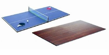TABLE TENNIS 7x4 ROSETTA DESK DINING REVERSABLE TOP POOL SNOOKER TABLE COVER - 283801202911